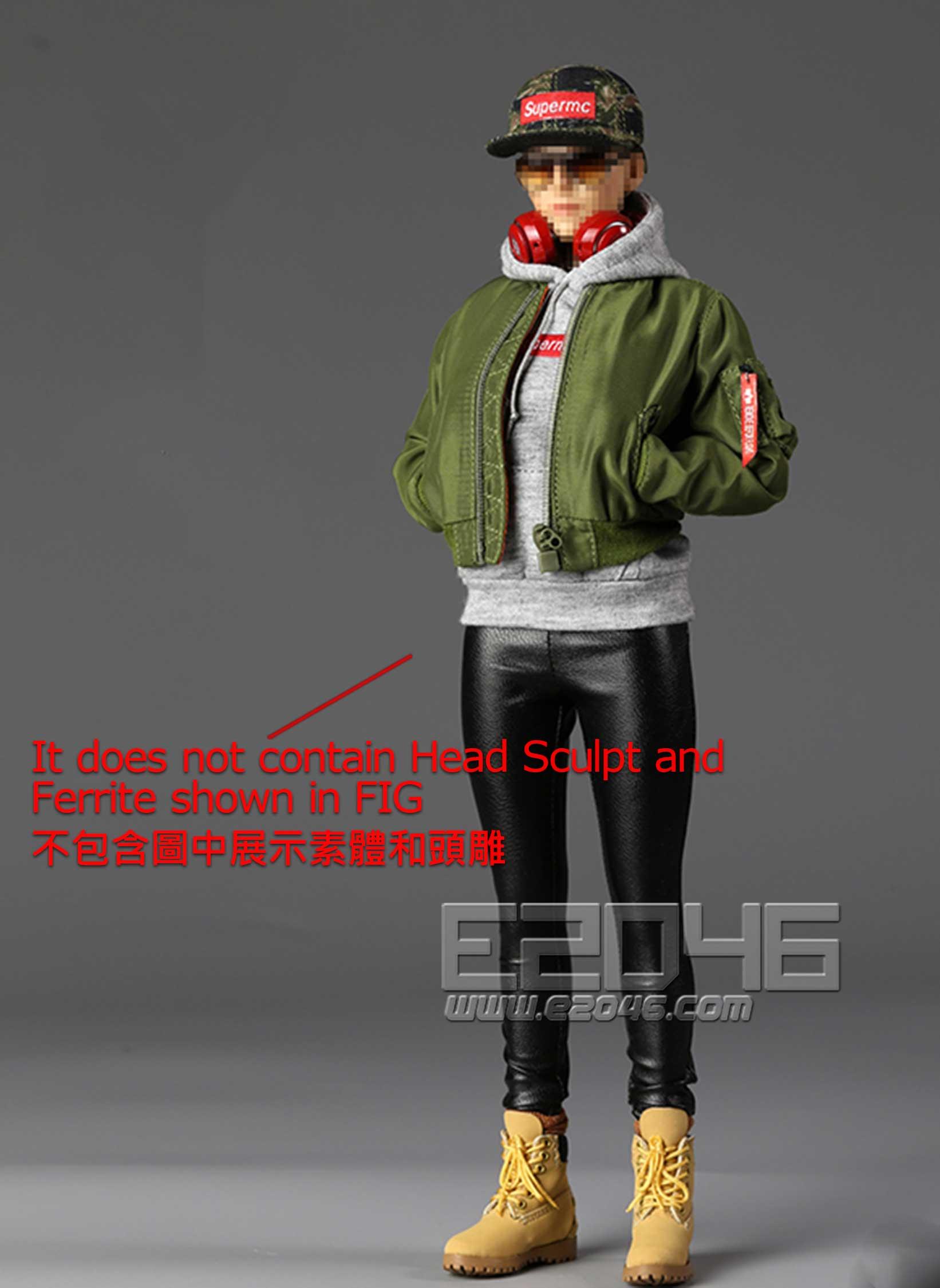 Street Style Flight Jacket Sets Womens (DOLL)