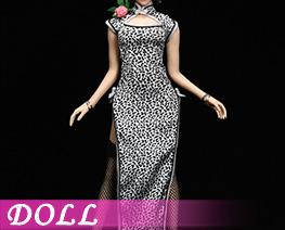 DL4217 1/6 Leopard Print Cheongsam Suit B (DOLL)