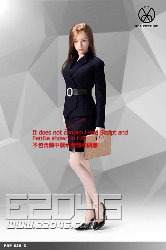 Female Suit Skirt Version C (DOLL)
