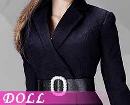 DL2337 1/6 女士西服套装裙装款 C (人偶)