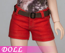 DL3163 1/6 Female Shorts Red Version (DOLL)
