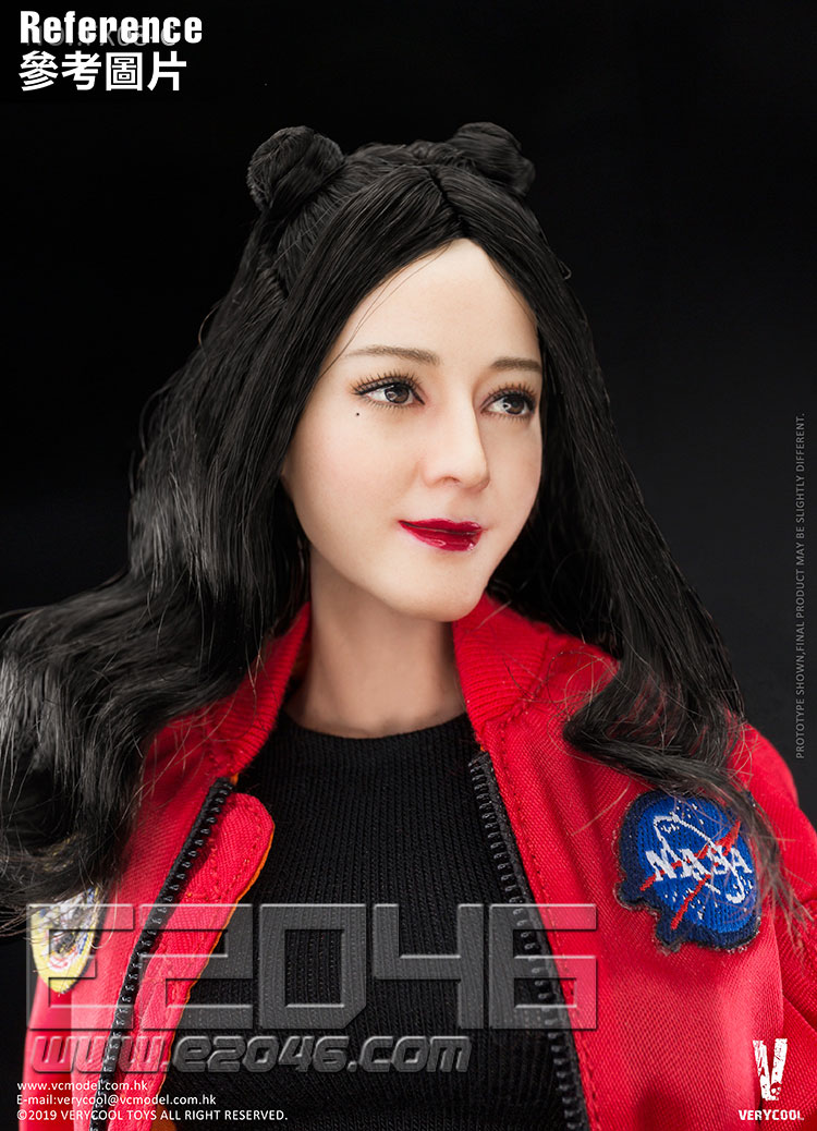 Double Meatball-like Hairstyle Head Sculpture And Body (DOLL)