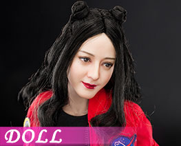 DL2478 1/6 Double Meatball-like Hairstyle Head Sculpture And Body (DOLL)