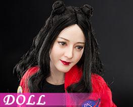 DL2478 1/6 双丸子发型头雕与素体 (人偶)
