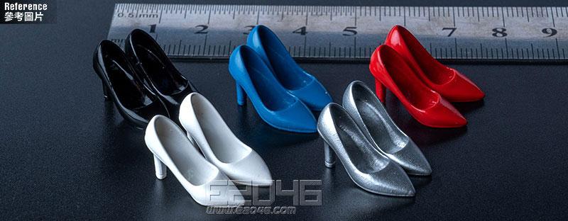 Fashion High Heels Silver (DOLL)