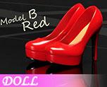 DL0578 1/6 Women's High Heel Shoes B (Doll)