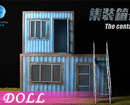 DL4557 1/12 Container Cabin C (DOLL)
