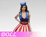 DL0720 1/6 U.S.O female suit A (Doll)