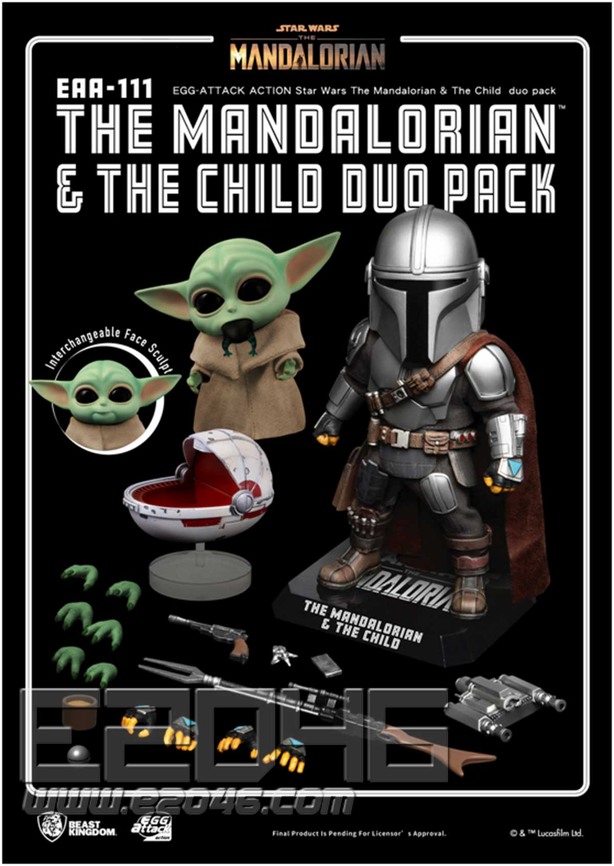 The Mandalorian & Baby Yoda (DOLL)