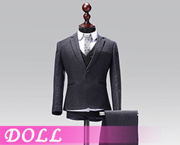 DL1841 1/6 Male Western-style Clothes Suit Solid Colors Version C (DOLL)