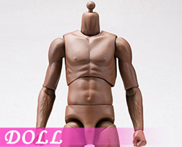 DL3433 1/6 Super Sportsmans Body Blaek Skin (DOLL)