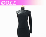 DL0351 1/6 Black Evening Dress B (Dolls)