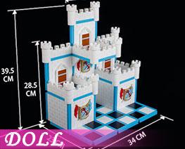 DL3468  Assembled Castle Scene D (DOLL)