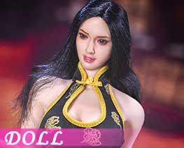 DL1484 1/6 超短旗袍服飾套裝 E (人偶)