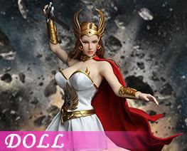 DL1298 1/6 超凡的公主頭雕服飾 (人偶)