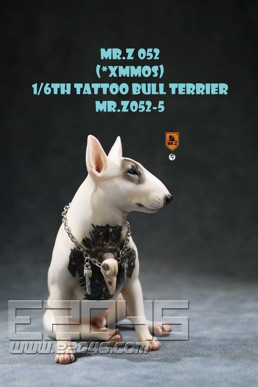 Tattoo Bull Terrier E (DOLL)