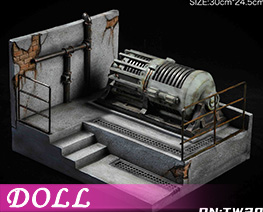 DL4110 1/12 Abandoned Factory Scene B (DOLL)