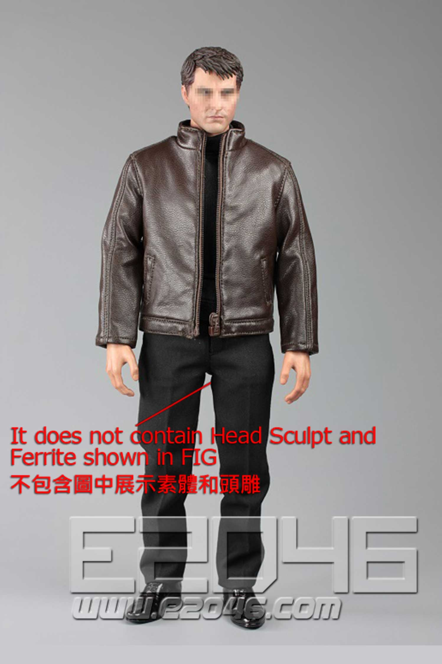Leather jacket B (DOLL)