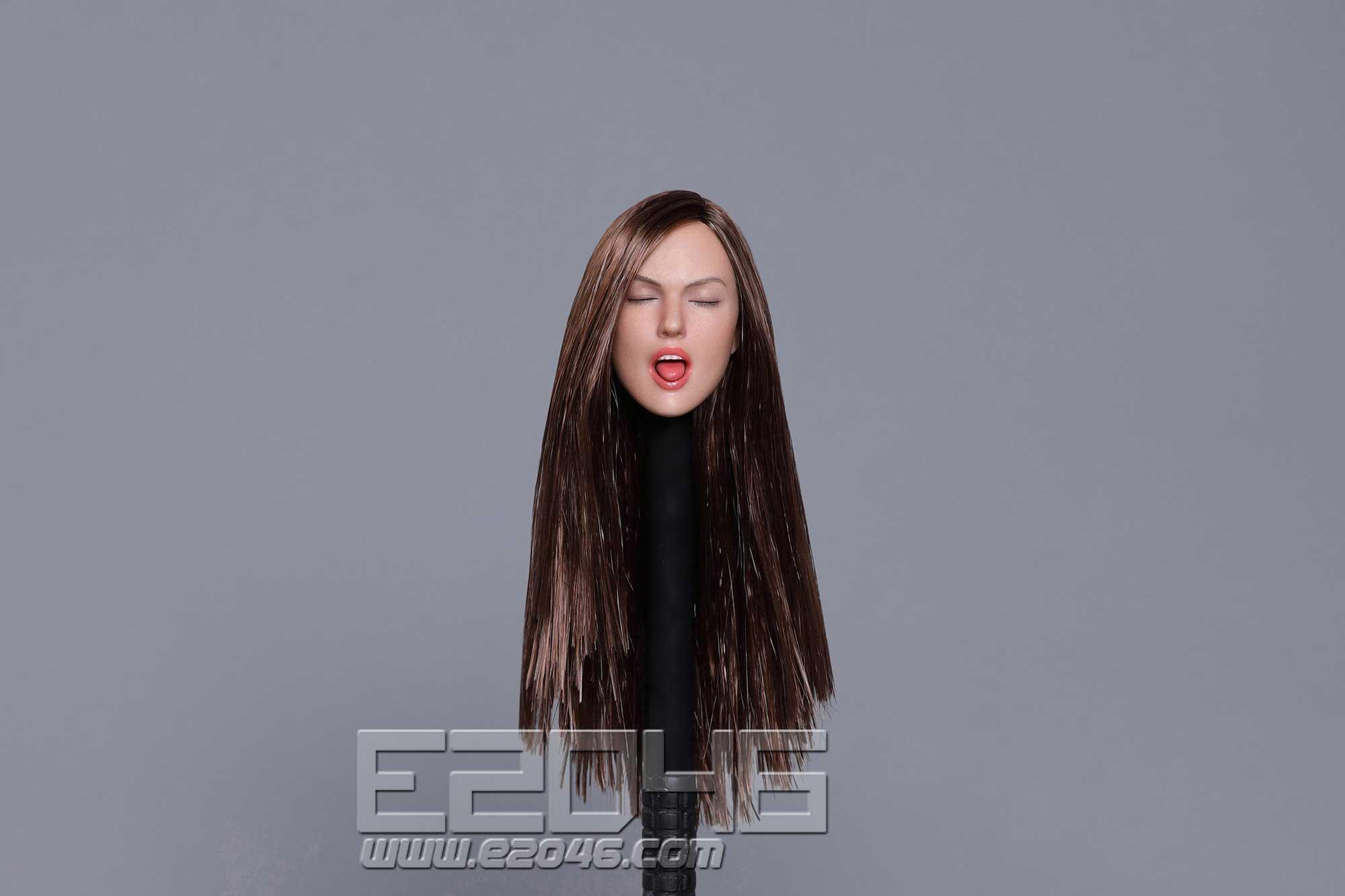 Sexy female head B (DOLL)