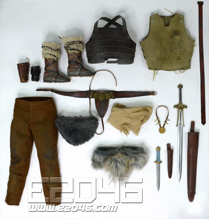 Barbarian Conan Clothing (DOLL)