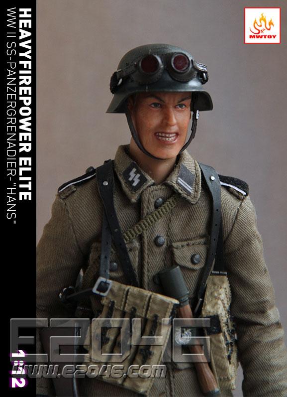 WWII SS Panzergrenadier (DOLL)