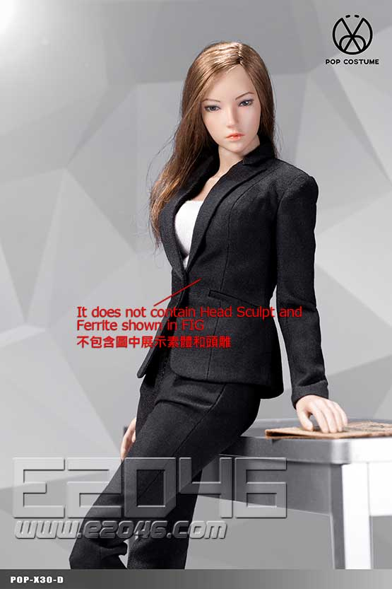 Female Suit Pants Version D (DOLL)