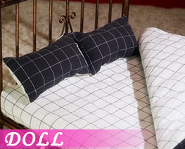 DL2253 1/6 Metal Bed Base Set S (DOLL)