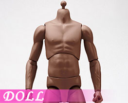 DL3435 1/6 Super Sportsmans Body Blaek Skin (DOLL)