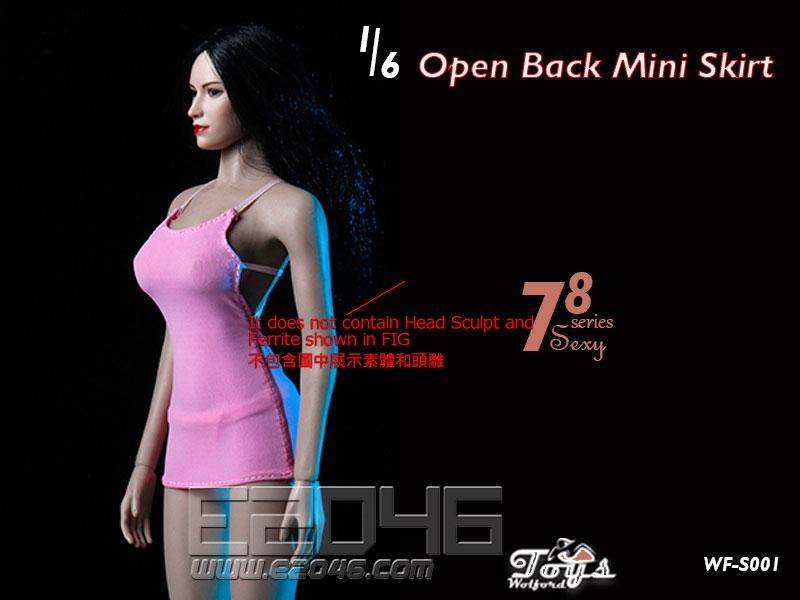 Open Back Mini Skirt C (DOLL)