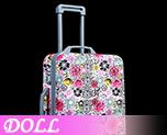DL1038 1/6 Multi-Functional Travel Trolley Case F (Doll)