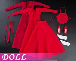 DL2479 1/6 古装红裙套装 (人偶)