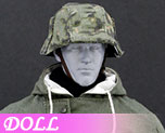 DL0559 1/6 The Ss And The Wehrmacht Snow Double Sided Cotton Padded Jacket A (Doll)