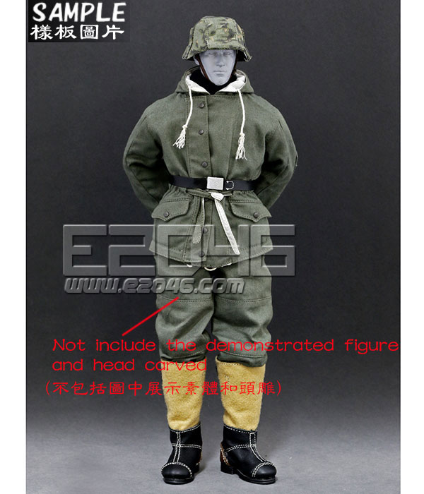 The Ss And The Wehrmacht Snow Double Sided Cotton Padded Jacket A (Doll)