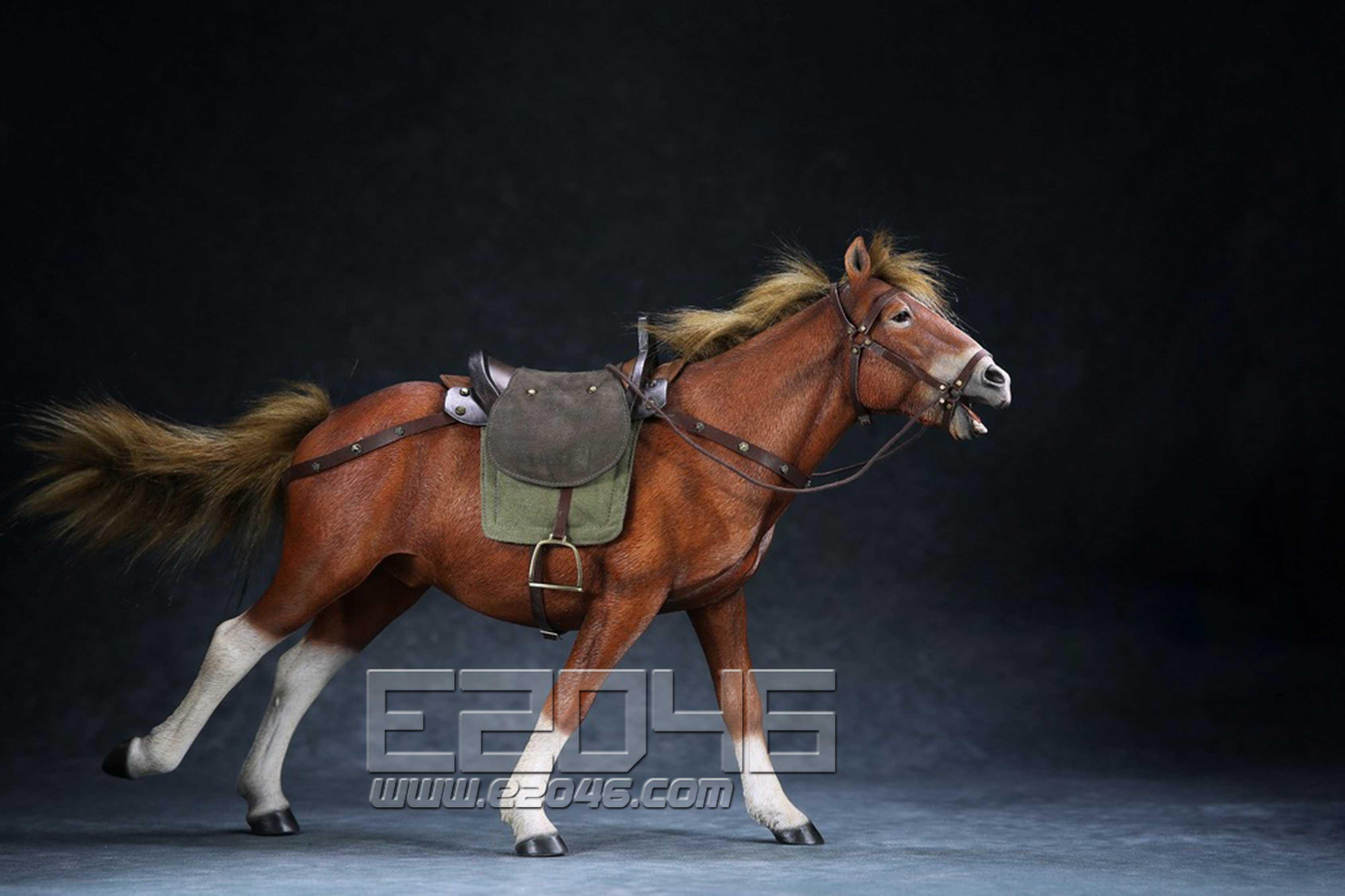 Flower hoof red horse (DOLL)