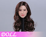DL0975 1/6 Asian Beauty Star Head Carving (Doll)