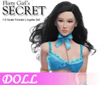 DL0165 1/6 Scale Female Blue Lingerie Set