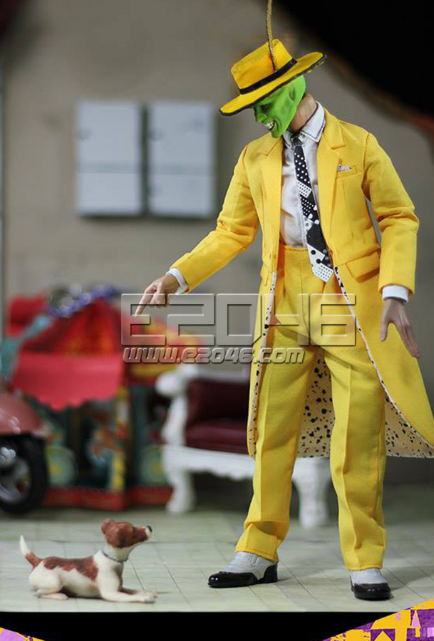 The Mask and The Dog (Doll)