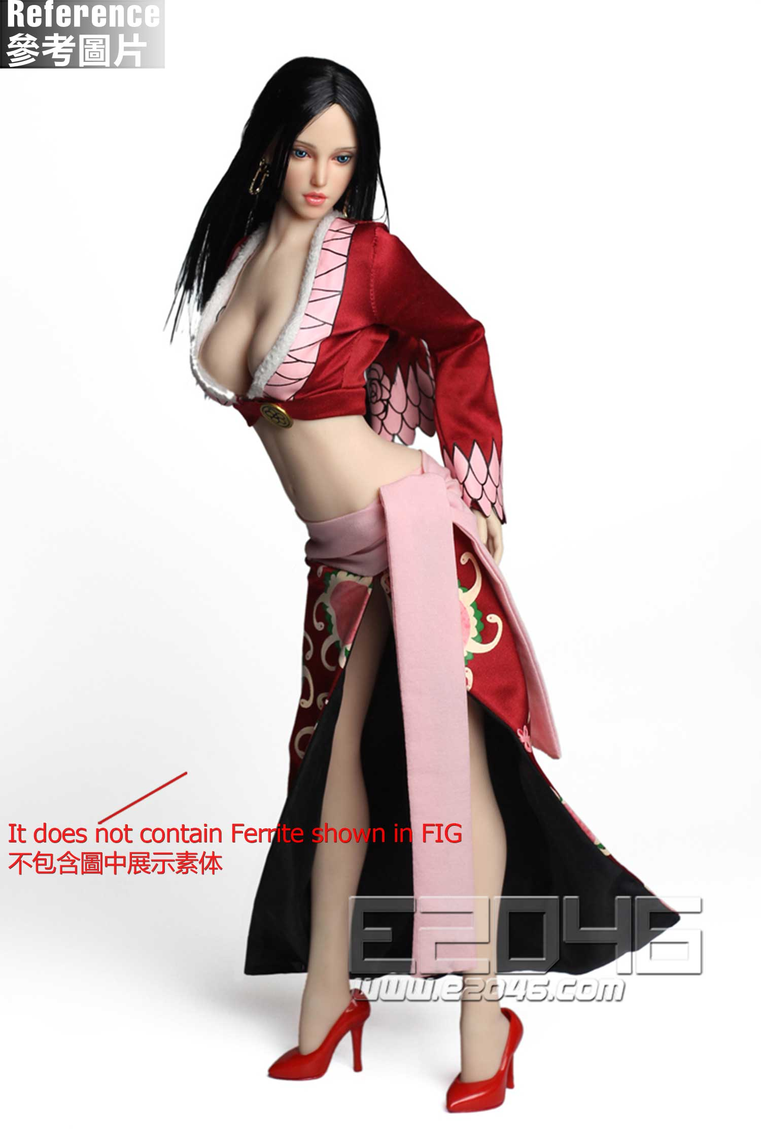 Beauty Head Carving Dress Set (DOLL)
