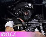 DL0550 1/6 SDU Assault Team Member (Doll)