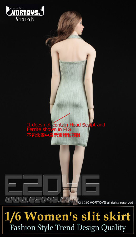 Womens Slit Skirt B (DOLL)