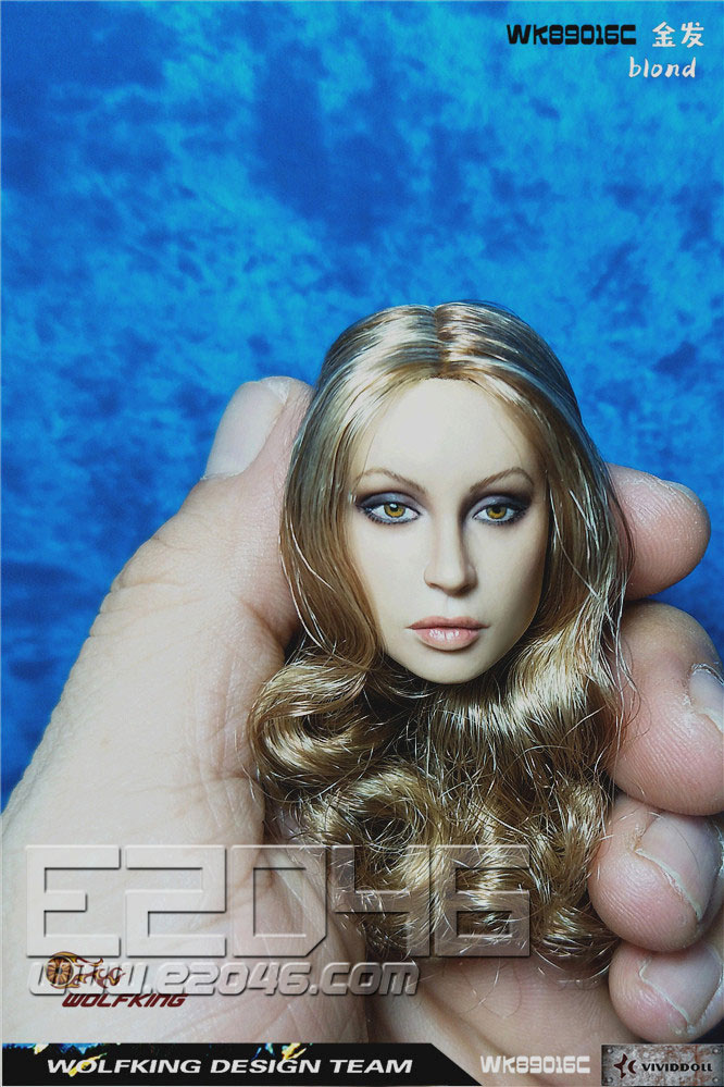 Head Carving Blond Hair (DOLL)