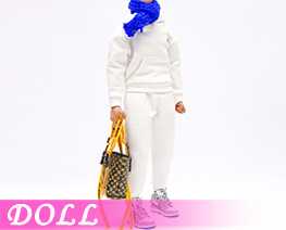 DL4183 1/6 Soldier Trend Sports Sweatshirt Suit A (DOLL)
