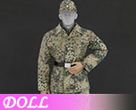 DL0765 1/6 Camouflage Uniform suit C (Doll)