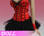 DL0395 1/6 Sexy Basque corset Dress C (Dolls)