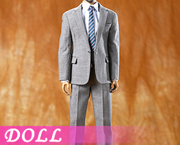 DL3964 1/6 Light Gray Casual Suit (DOLL)