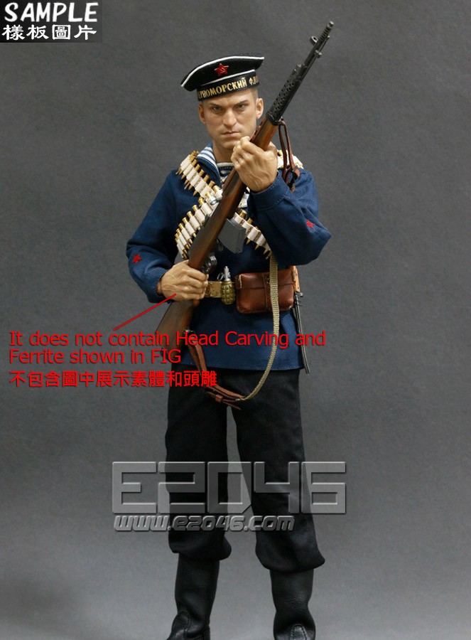 WWII Soviet Red Navy Equipment Set (Doll)