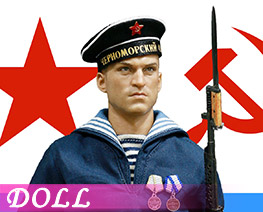 DL1263 1/6 WWII Soviet Red Navy Equipment Set (Doll)