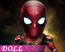DL1665  Steel Spiderman Deluxe Edition (DOLL)