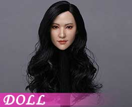 DL1438 1/6 Asian beauty head carving B (DOLL)