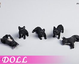 DL4461 1/12 French Bulldog C (DOLL)